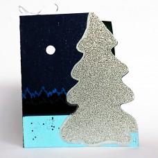 Christmas pop-up card SILENT NIGHT