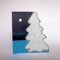 CHRISTMAS STAR pop-up greeting card