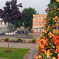 Plungė Old Town Square