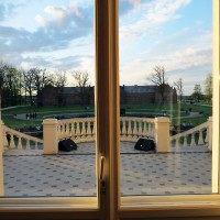 View from the windows of the Oginski Palace